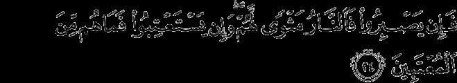 Surat Fushshilat ayat 24
