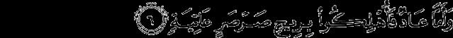 Surat Al-Haqqah ayat 6